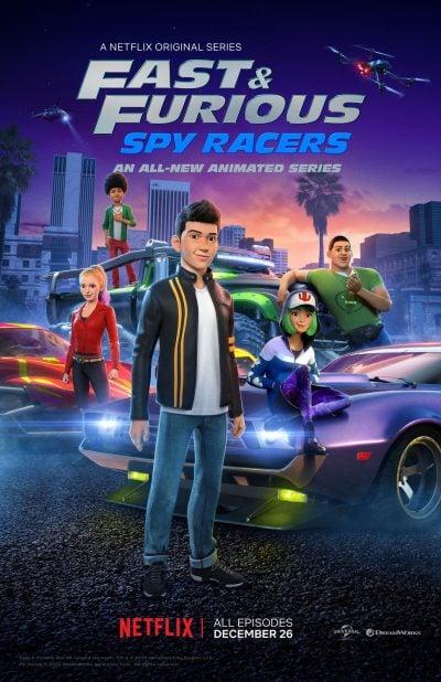 Fast & Furious Spy Racer เร็ว…แรง ทะลุนรก ซิ่งสยบโลก
